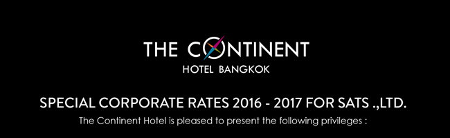Special Corporate Rates 2016-2017 for Sats